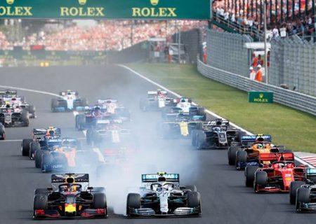 مسابقه فرمول یک فرانسه لغو شد