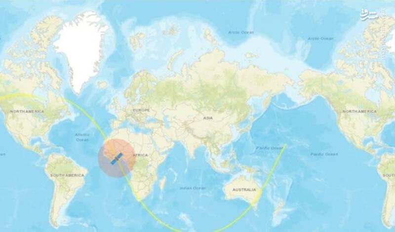فیلم/ رصد ماهواره نور در سایت های جهانی ردیابی ماهواره
