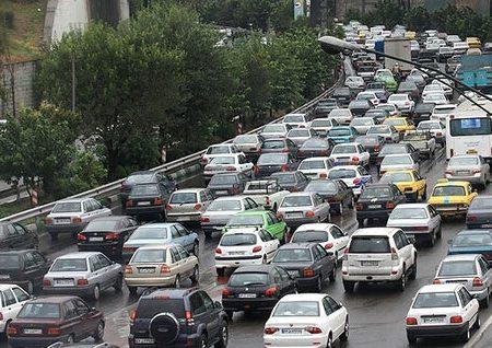 ترافیک در آزادراه قزوین – تهران و محور پردیس