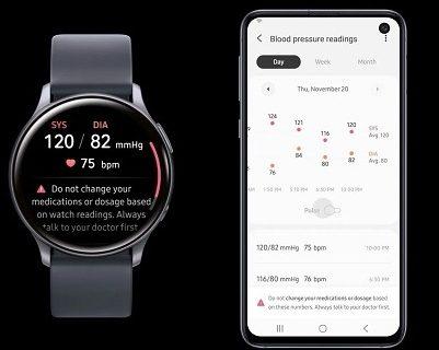 نرمافزار جدید سلامتی سامسونگ برای ساعتهای هوشمند معرفی شد