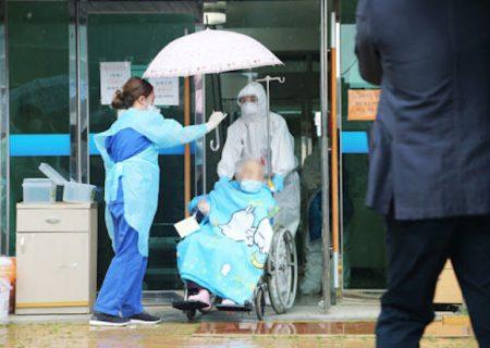 یک بیمار کرونایی ۱۵۳ نفر را در کره جنوبی مبتلا کرد