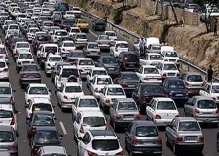 ترافیک سنگین در آزادراه قزوین – تهران
