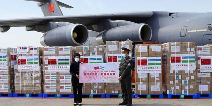 کمکهای بشردوستانه چین به وزارت دفاع ازبکستان