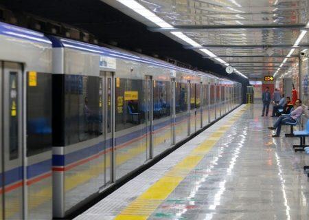 کاهش سرفاصله حرکت قطارهای خط ۳ متروی تهران