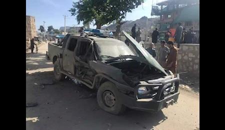 انفجار خودروی بمب گذاری شده در کابل