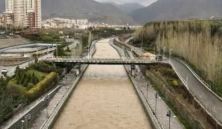 وضعیت ۶ کانال و رودخانه بزرگ پایتخت