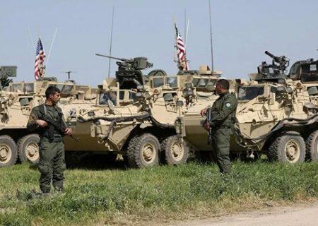 خودروهای زرهی آمریکا از عراق وارد میدان نفتی سوریه شدند
