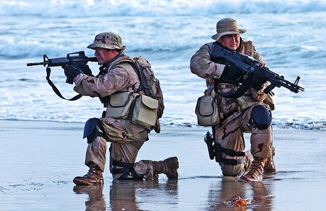 مأموریت محرمانه نیروهای غربی در ساحل لیبی