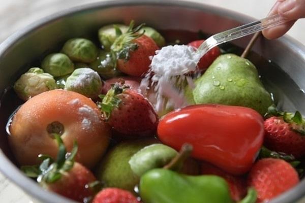 ضد عفونی کردن میوه و سبزیجات در کرونا