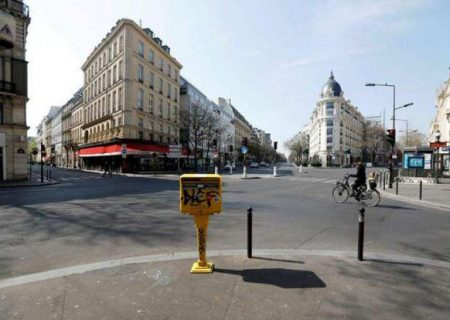 فرانسه ۲۷ درصد از فعالیتهای اقتصادی خود را از دست داد