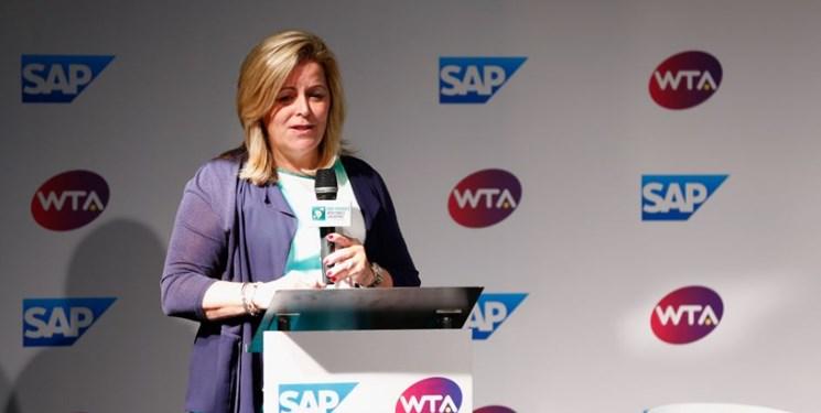 یک خانم برای نخستین بار مدیر تورنمنت تنیس آزاد آمریکا شد