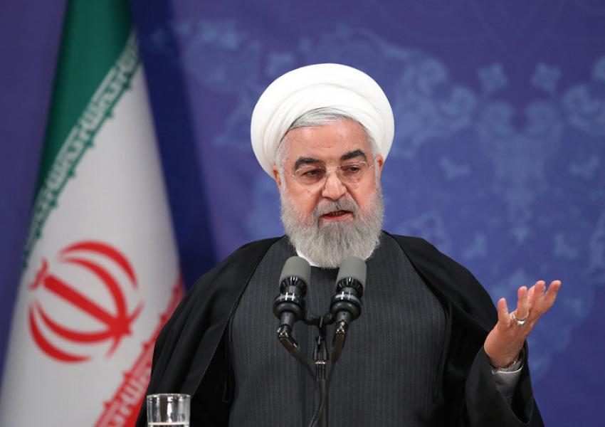 افتتاح طرح های ملی وزارت راه و شهرسازی توسط روحانی