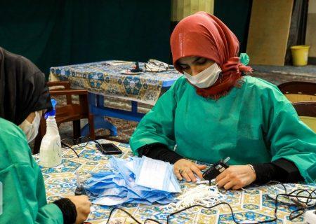 روزانه ۳۰۰ هزار نخ ماسک در مازندران تولید میشود