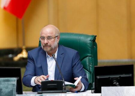 توضیحات قالیباف از جلسه غیر علنی امروز مجلس