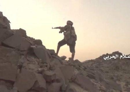 مقابله ارتش یمن با هجوم مزدوران سعودی و کشته شدن تعدادی از آنها