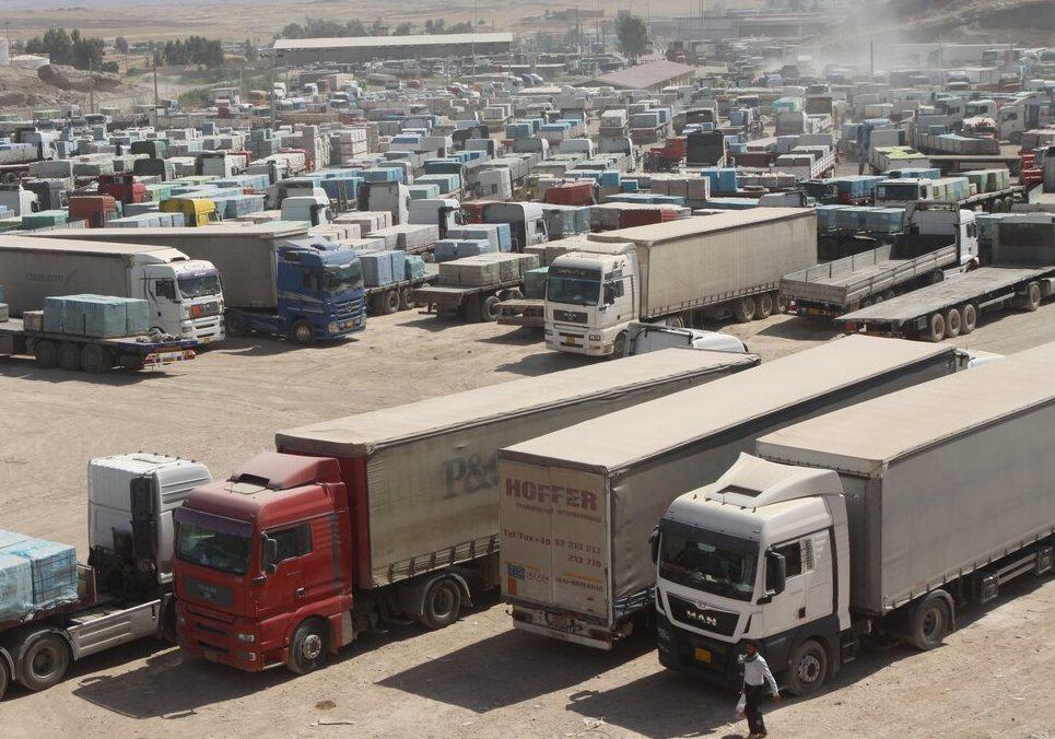 صادرات از مرز پرویزخان قصرشیرین ۳۳ درصد افزایش یافت