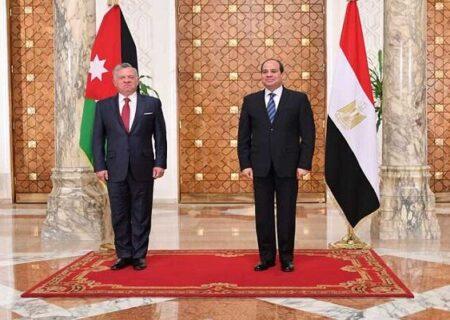 نشست سهجانبه «الکاظمی»، «السیسی» و «عبدالله دوم» در اردن
