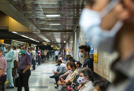 افزایش تعداد مسافران مترو با وجود لغو طرح ترافیک