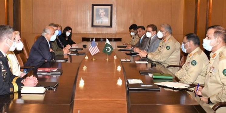 دیدار نماینده ویژه آمریکا با فرمانده ارتش پاکستان؛ اوضاع افغانستان محور رایزنی