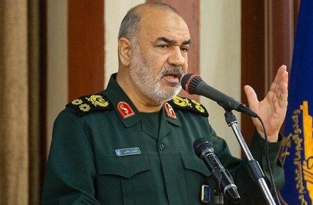 هشدار شدید اللحن فرمانده کل سپاه به ترامپ