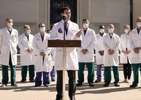 پزشک کاخ سفید: خطر بیماری ترامپ هنوز برطرف نشده است