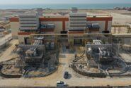 افتتاح نیروگاه تولید برق ۵۰۰ مگاواتی قشم