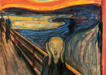 جاده اسرارآمیزی که از نقاشی «جیغ» ادوارد مونک می گذرد