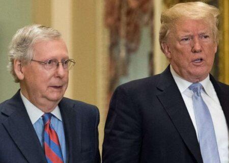وقتکُشی، تاکتیک رهبر جمهوریخواهان سنا برای مقابله با استیضاح ترامپ
