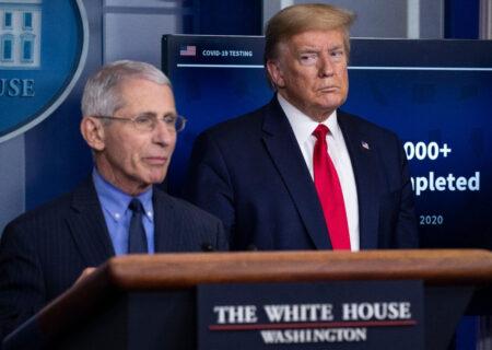 ترامپ آمار همه گیری کرونا در آمریکا را اغراق آمیز می داند!