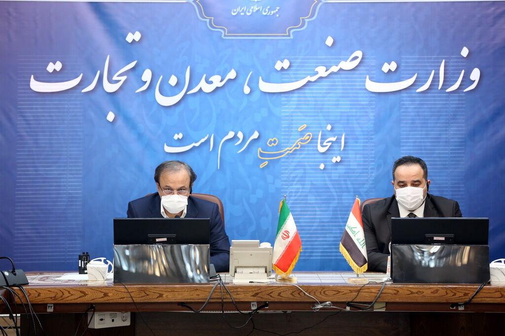 تاکید وزیر صنعت برای ترسیم نقشه تجارت ۲۰ میلیارد دلاری با عراق