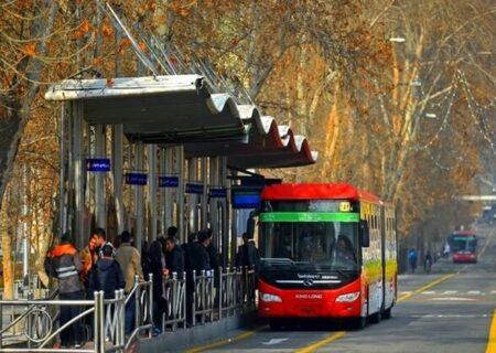 کرونا/ انتقال کرونا ویروس در اتوبوس های درون شهری