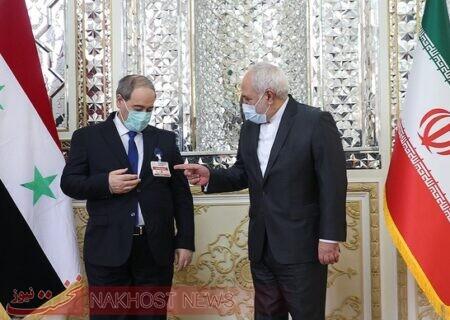 رایزنی ظریف با رئیس جمهور و وزیر خارجه سوریه درباره تحولات فلسطین