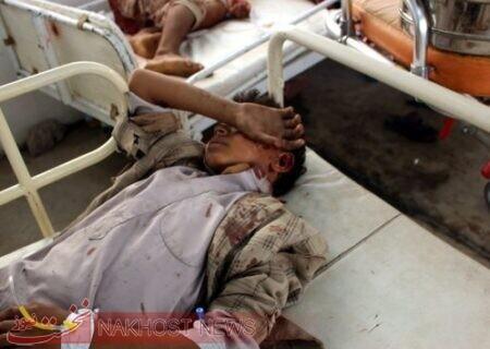برخورد ۲۱ راکت جنگنده های سعودی به مناطق غیرنظامی در یمن
