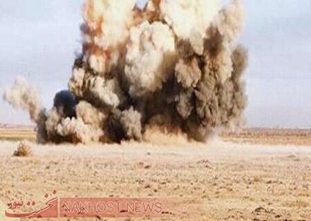 انفجار مین در حسکه سوریه