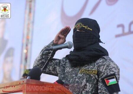 یک نیروی گروهان های القدس از رهبرانقلاب و شهیدسلیمانی قدردانی کرد