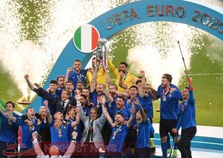 پادشاه جدید اروپا را بشناسید؛ ایتالیا جام را از لندن به رم برد