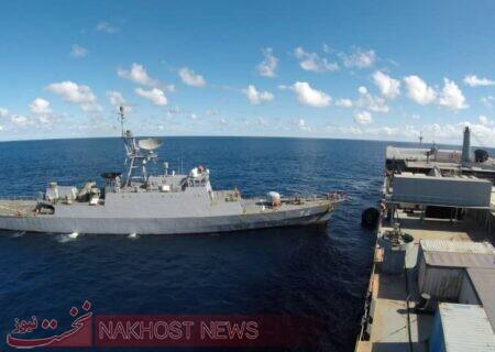 فرمانده نیروی دریایی ارتش در رژه دریایی ارتش روسیه شرکت میکند