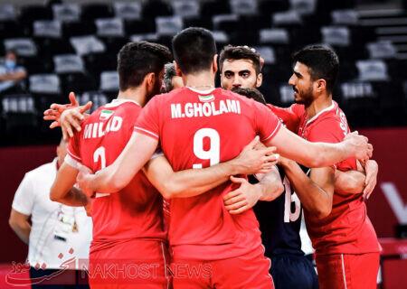 والیبال ایران بدون دردسر از سد ونزوئلا گذشت
