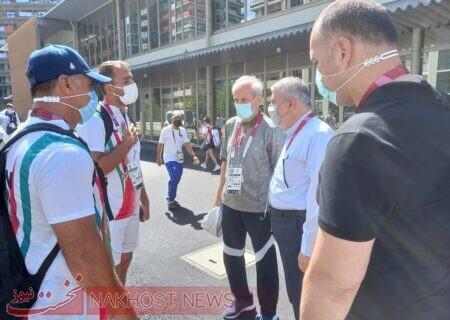 بازدید صالحیامیری از دهکده المپیک توکیو