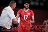 صالحی امتیازآورترین بازیکن والیبال ایران در دیدار با ایتالیا شد