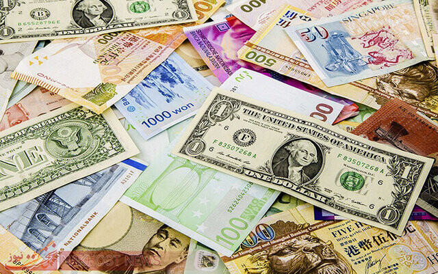 نرخ رسمی یورو و ۲۰ ارز افزایش یافت
