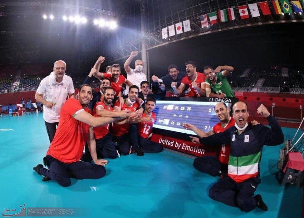 والیبال نشسته ایران برای هفتمین بار بربام پارالمپیک تکیه زد