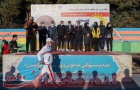 مراسم استقبال از مدالآور وزنهبرداری بانوان جهان
