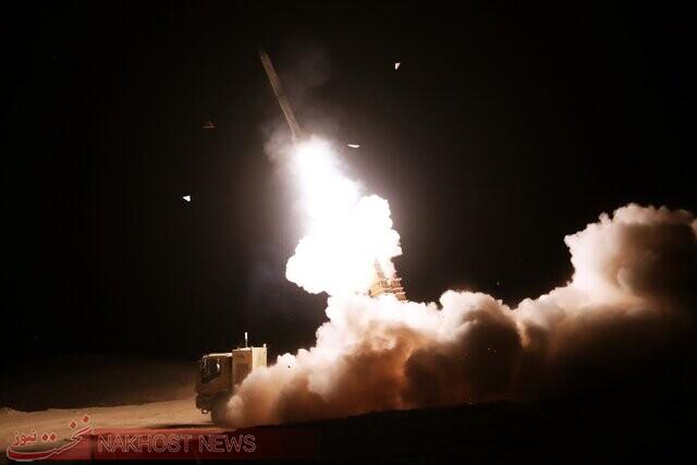 شلیک سامانههای «جوشن و خاتم» پدافند هوایی ارتش