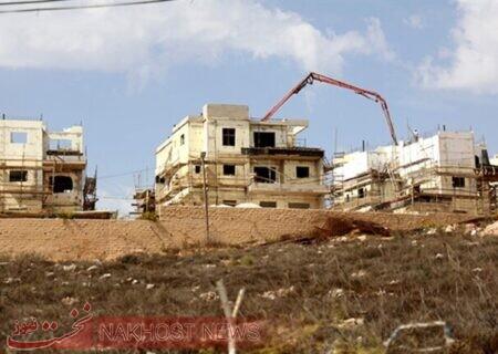 اسرائیل دنبال ساخت ۱۳۵۵ واحد مسکونی در کرانه باختری