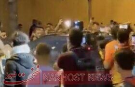 حمله هواداران بارسلونا به کومان بعد از شکست در ال کلاسیکو