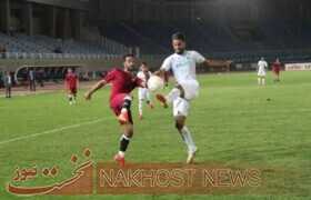 گزارش تصویری بازی تیم فوتبال شهرخودرو و آلومینیوم اراک